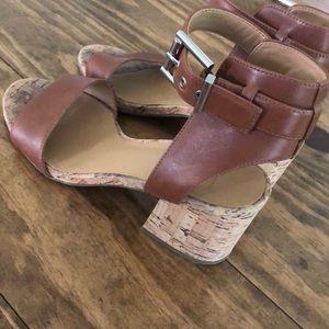 Franco Sarto Cork Sandals